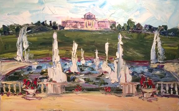 Art Hill, 30x48in, $3,500