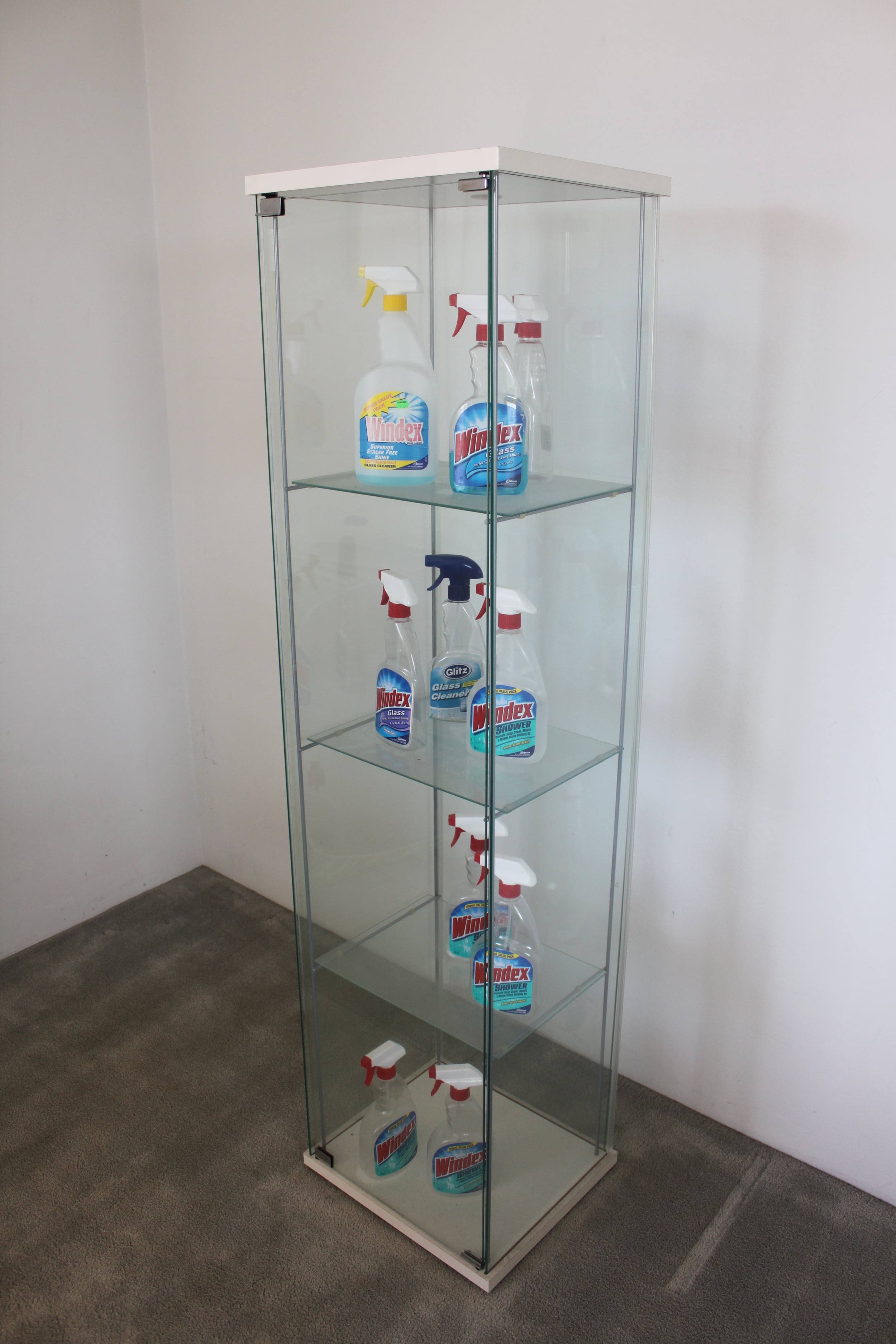 Lada Dedic People Who Live in Glass Houses   Ready made objects,  2006
