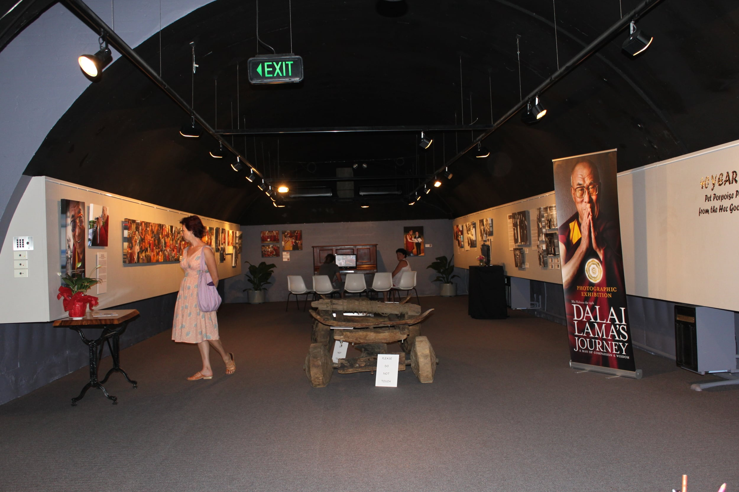 The Dalai Lama's Journey Exhibition  Bunker Gallery, Coffs Harbour NSW, 2011