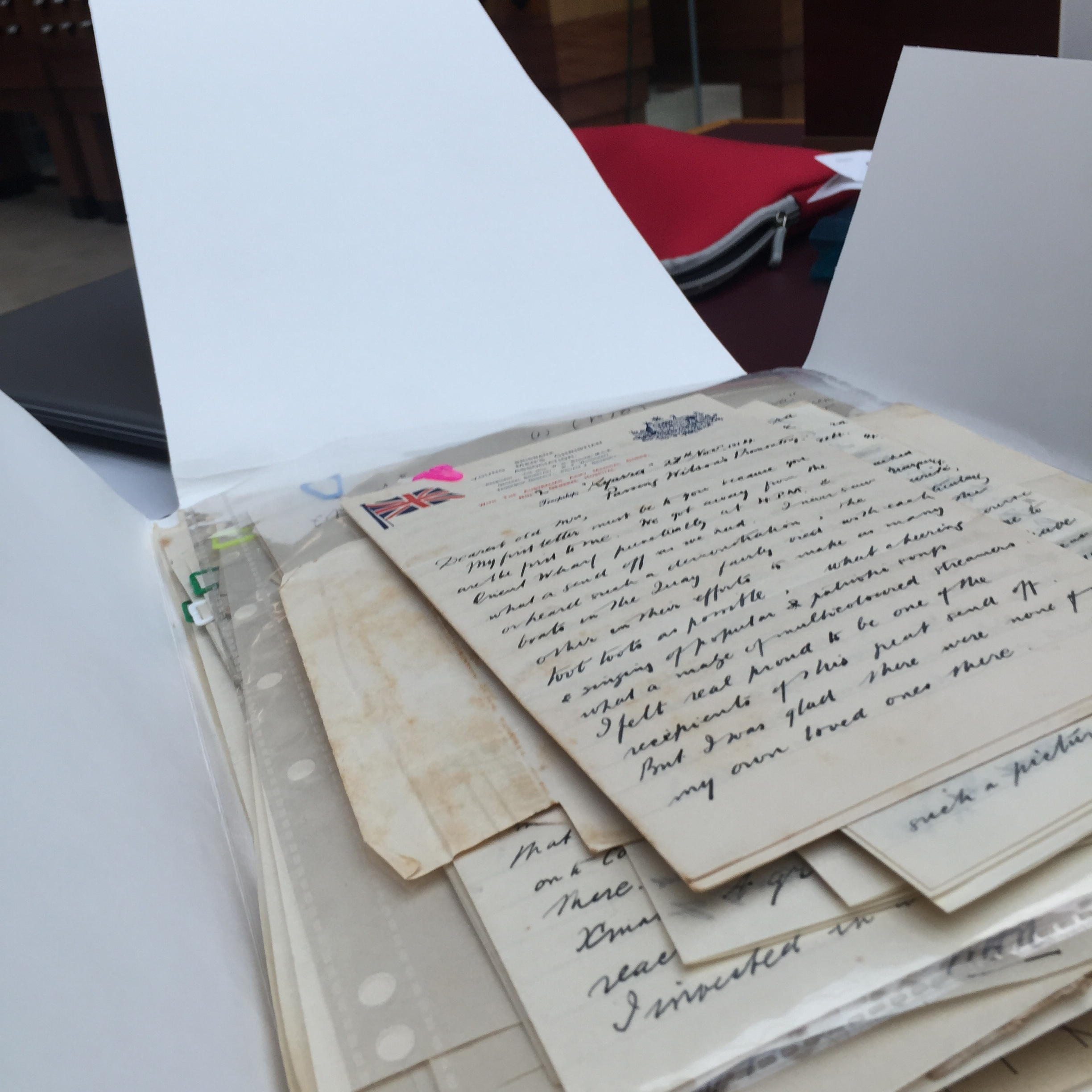 Letters from Frederick Stobo Phillips, 31 January 1915-26 October 1916, Collection: Series 01 Part 01: Irene Victoria Read WWI papers, 1914-1918