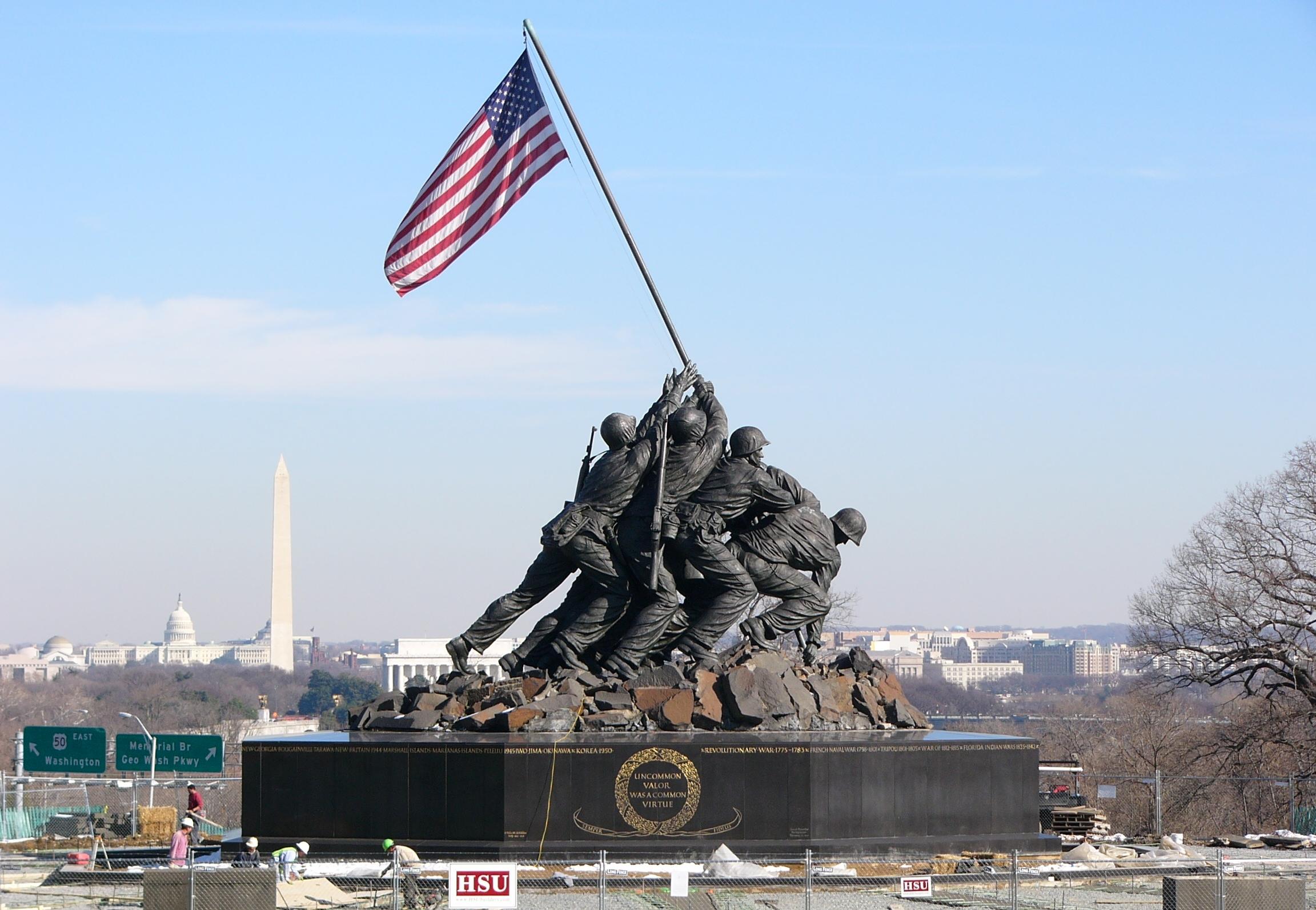 War Memorial - Iwo Jima