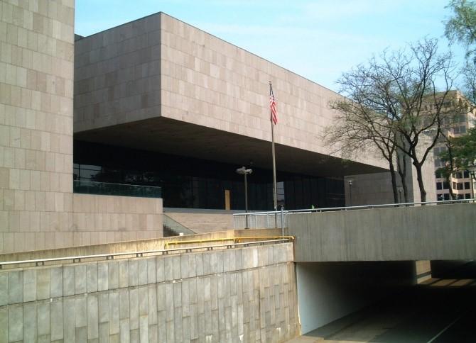 Alexandria courthouse courtroom renovation