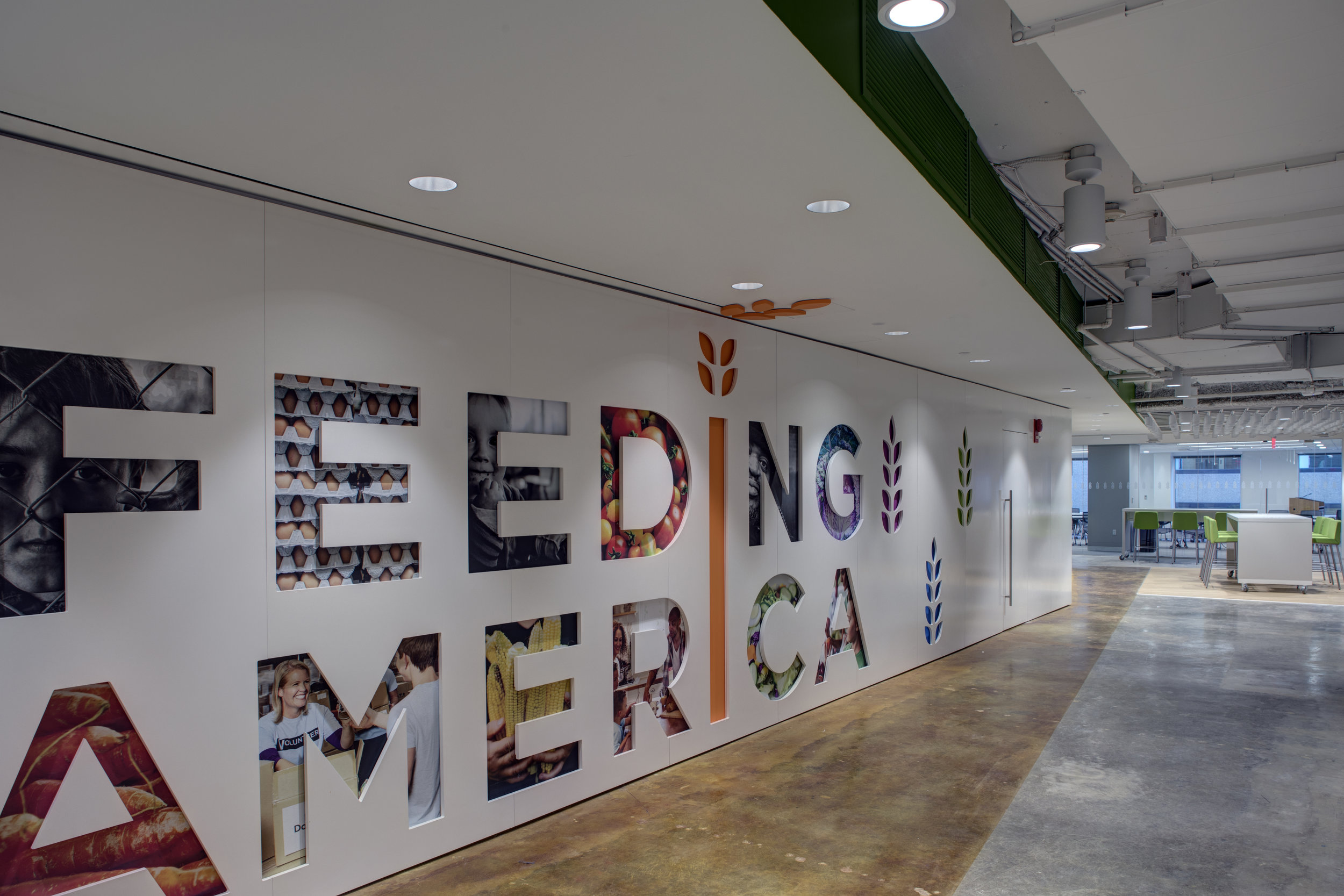 Feeding America Interior Alteration