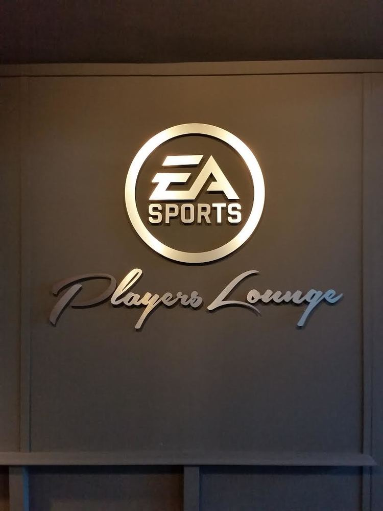 EA Sports Lounge Transformation