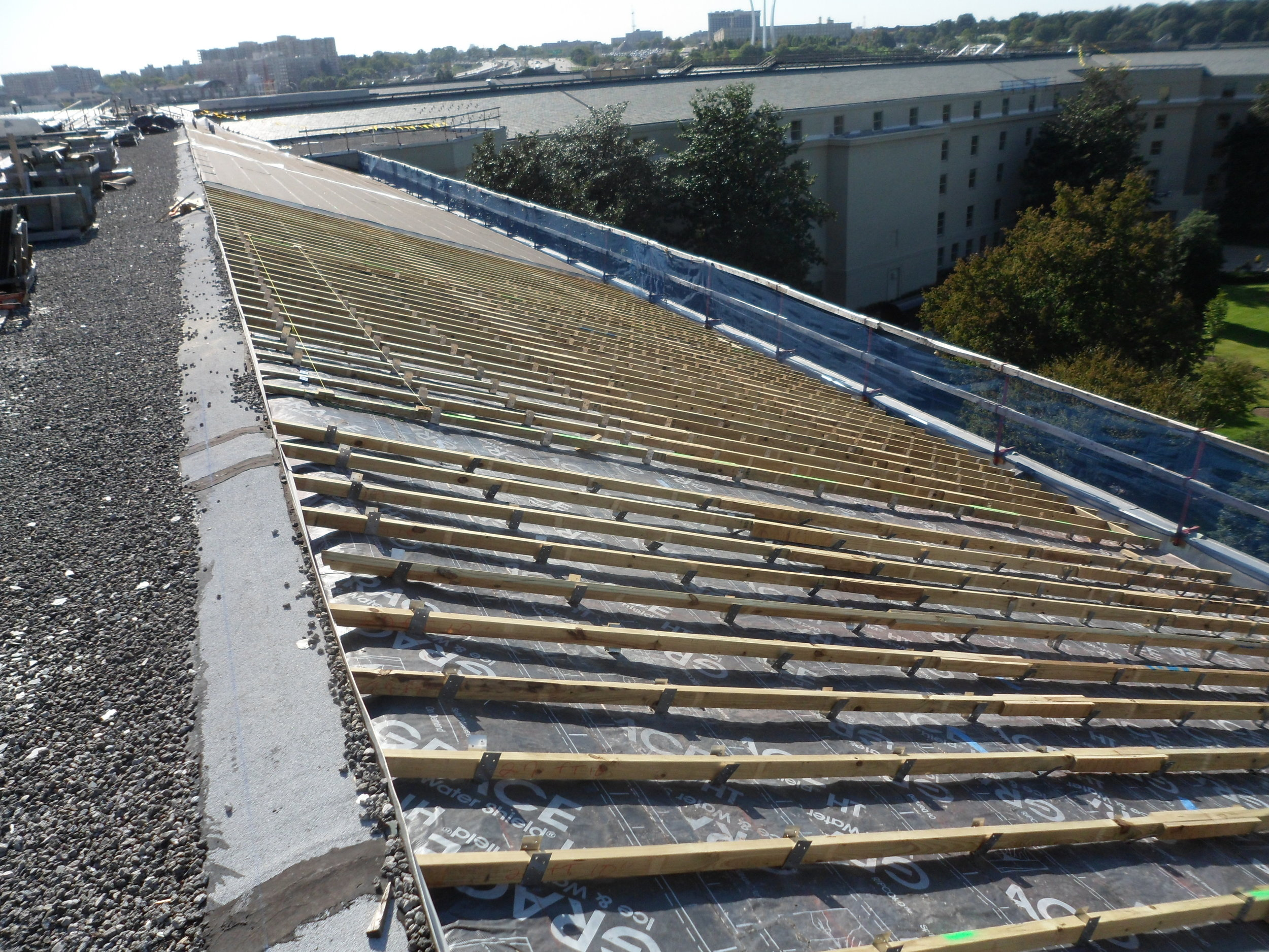 Pentagon Iconic Roof Replacement & Restoration
