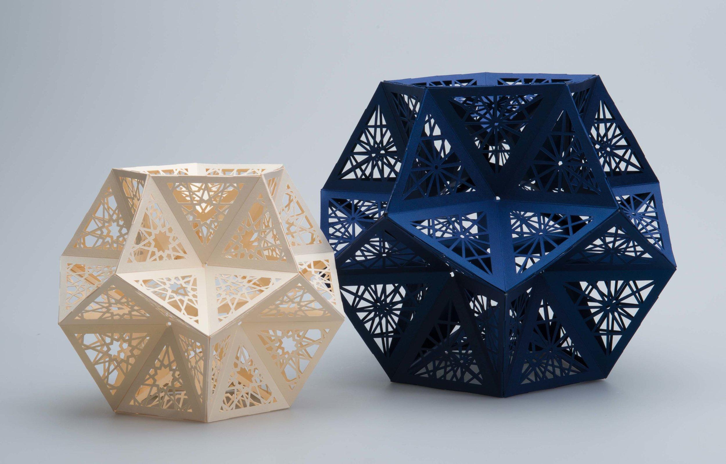 Paper Sculptures - Antalis Storefront