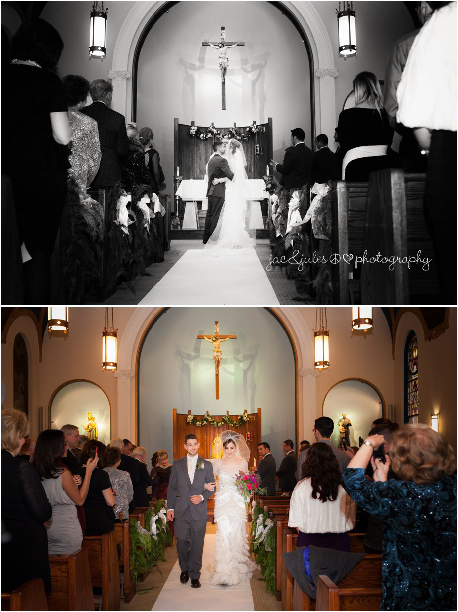 jacnjules photographs church ceremony at Don Bosco Chapel in Ramsey NJ