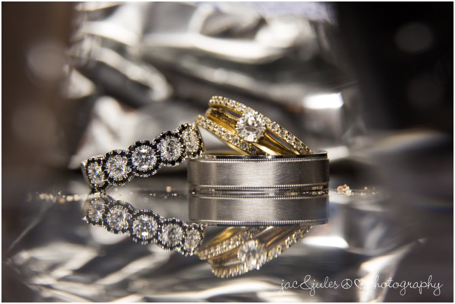jacnjules photographs wedding rings, macro ring shot, ninety acres in peapack gladstone nj