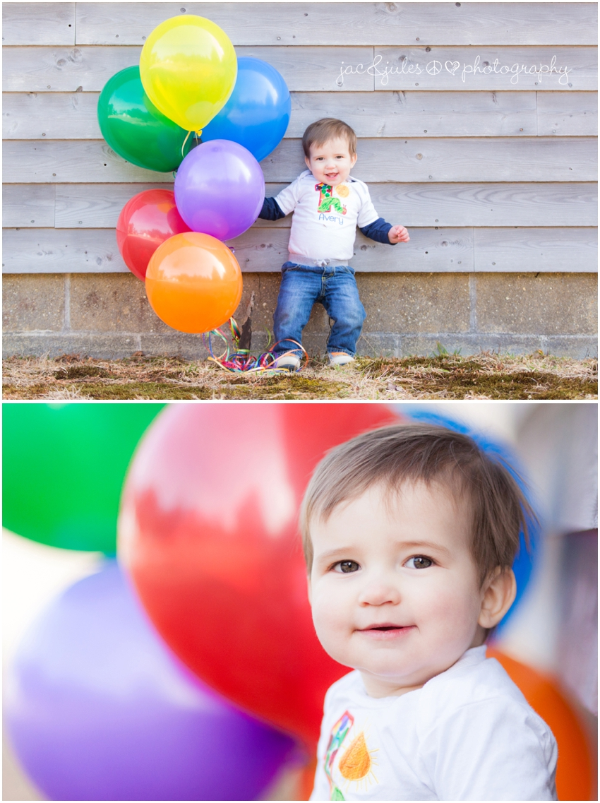 jacnjules photographs first birthday boy at double trouble state park in nj