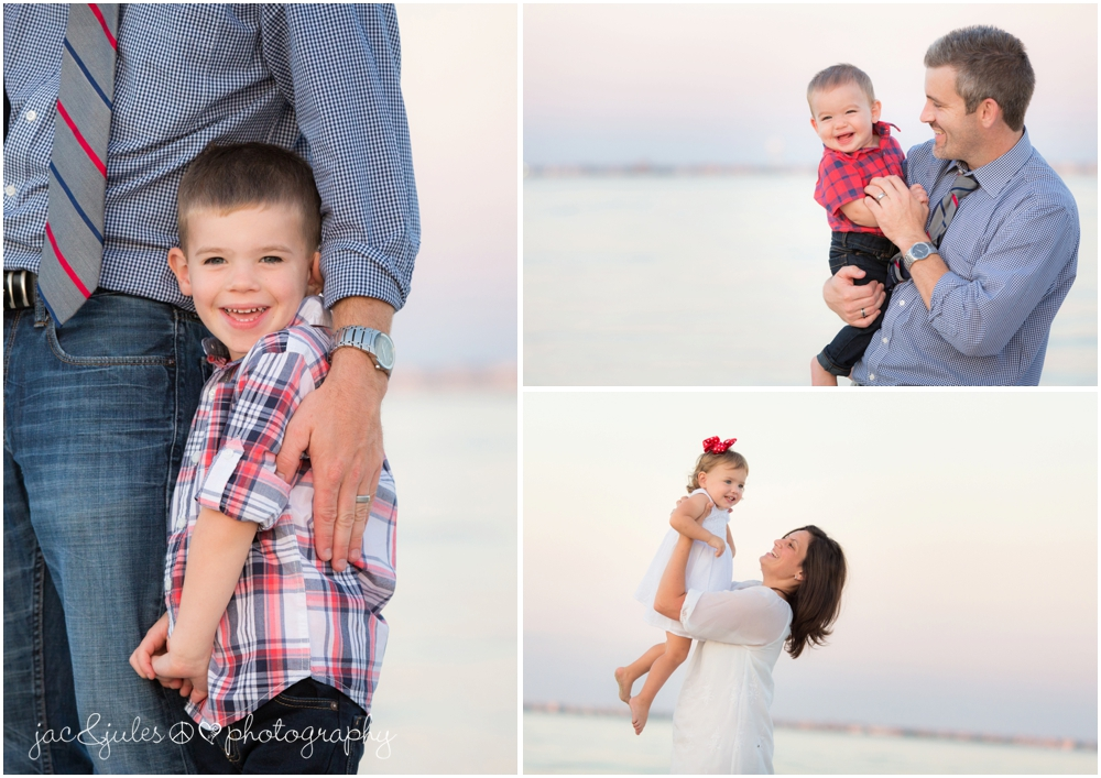 jacnjules photographs fun family on the beach in toms river, nj