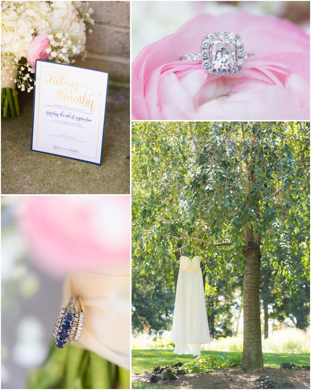 elegant wedding details at drummer estate in pa by jacnjules
