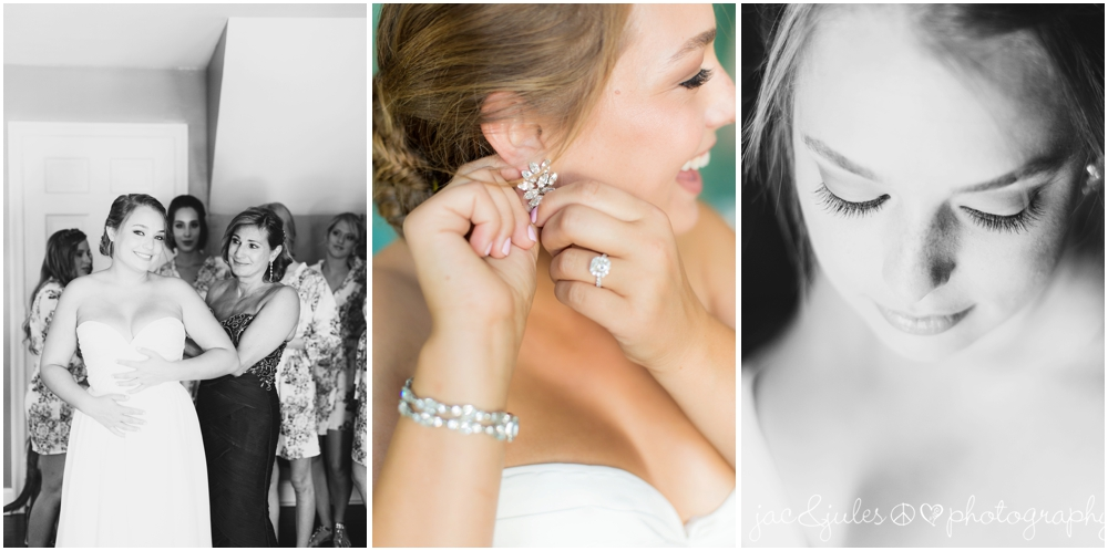 bride gets ready for her wedding at drumore estate in pa by jacnjules