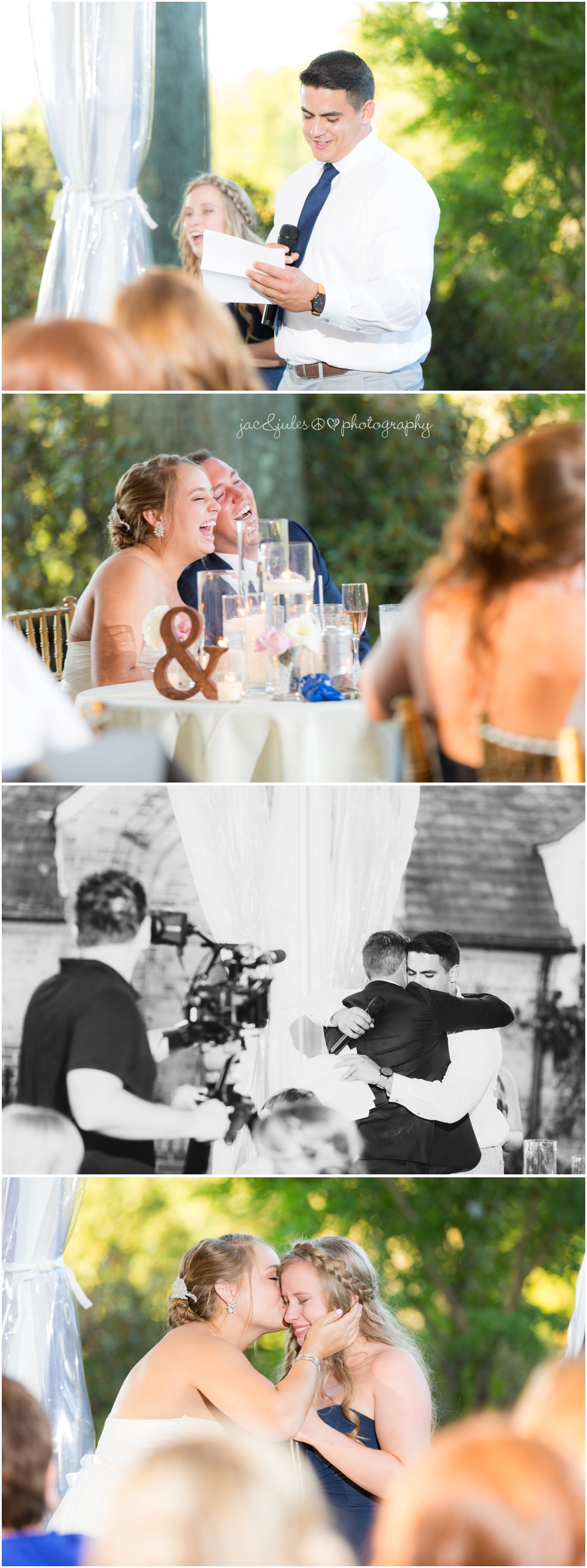 jacnjules photographs the toasts at a wedding at drumore estate in pa