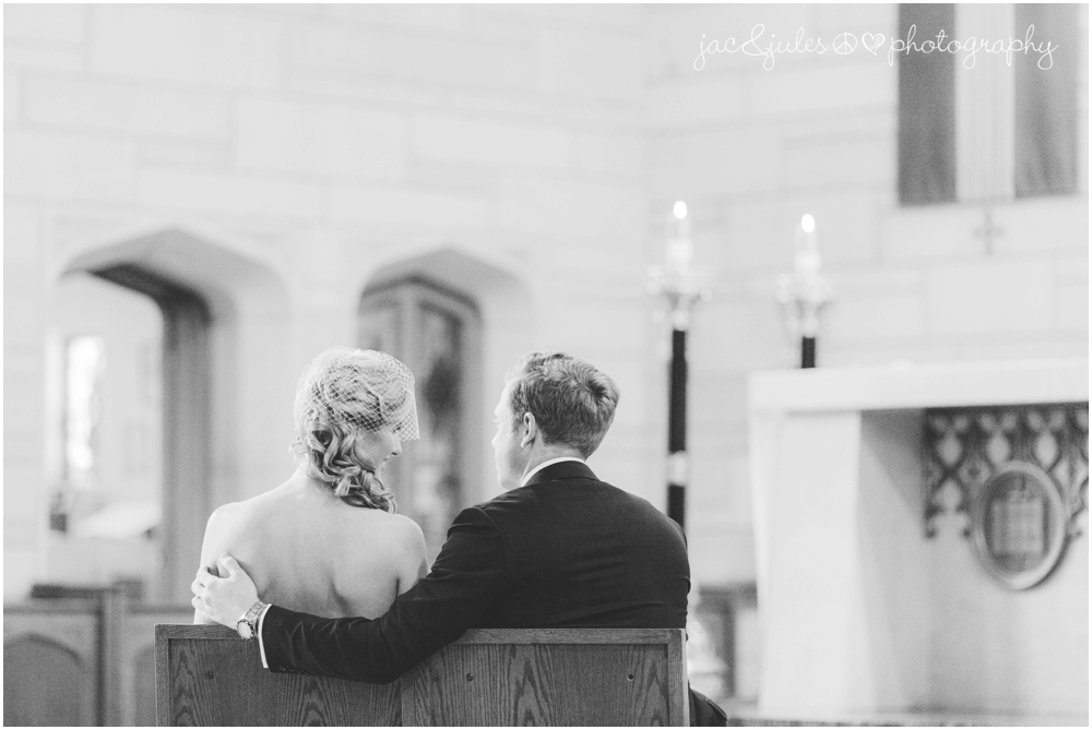 jacnjules photographs a wedding ceremony at st. paul's church in princeton nj