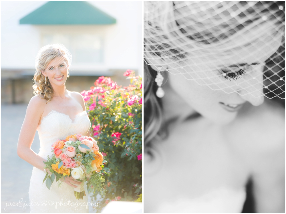 jacnjules photographs the bride at windows on the water at frogbridge