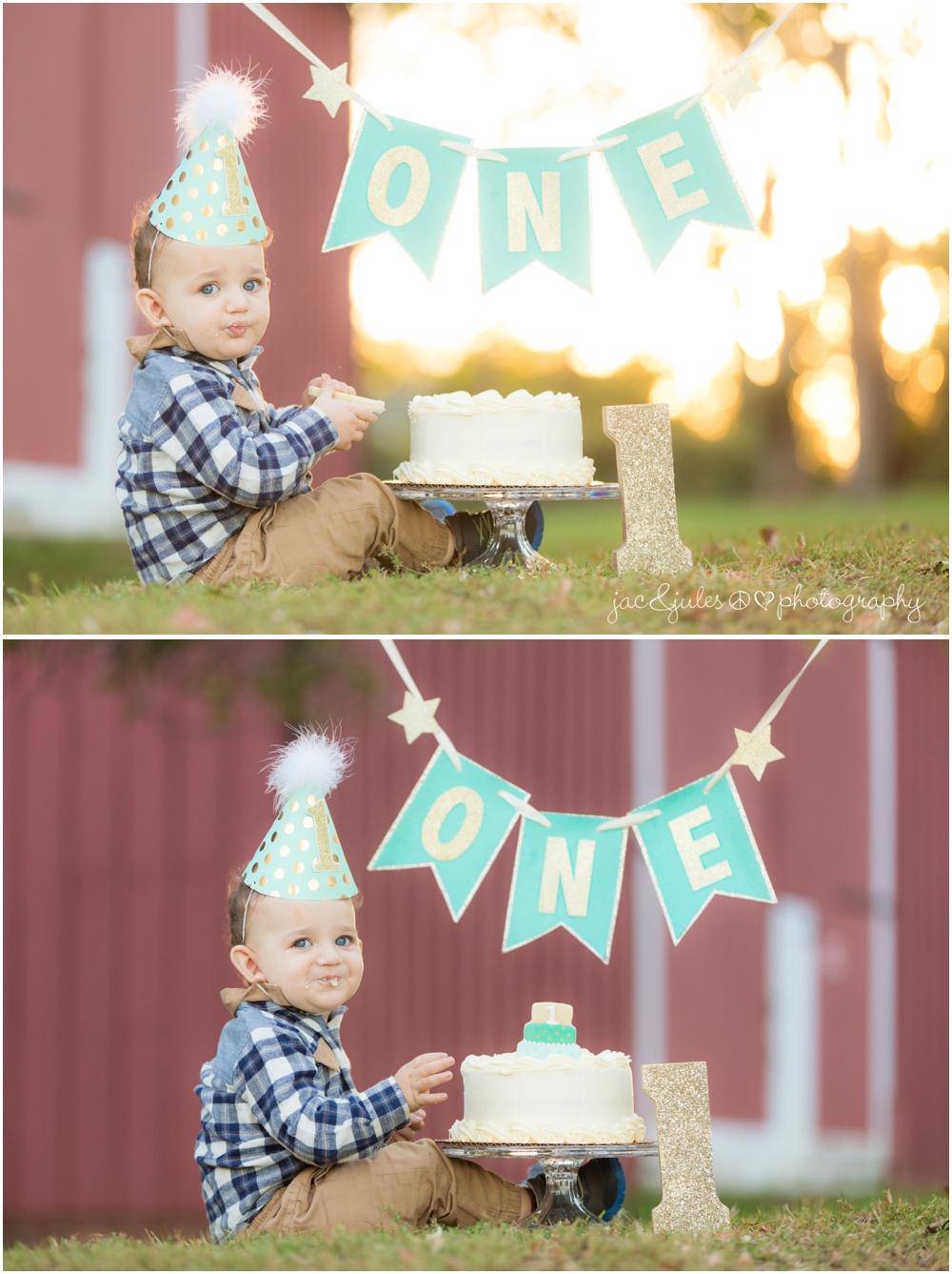jacnjules photographs 1st birthday at bayonet farm in holmdel nj