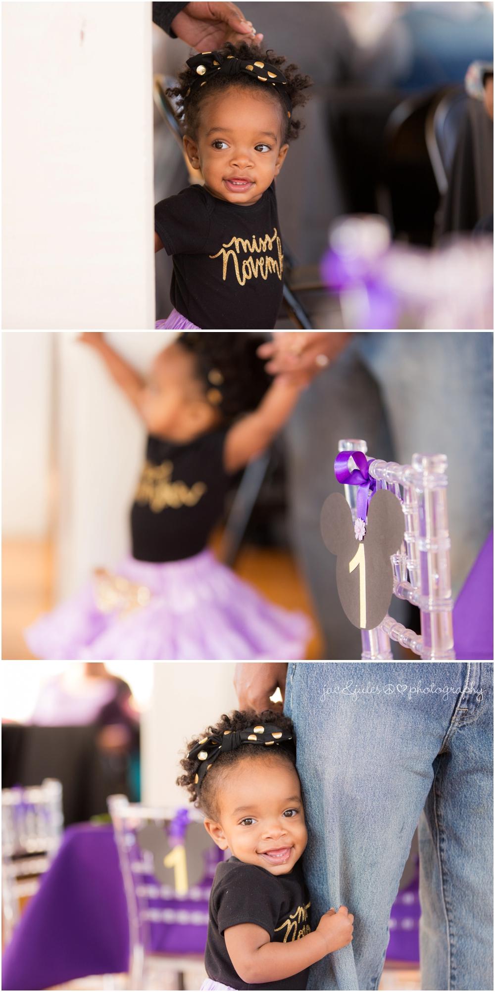 jacnjules photographs birthday girl at Lotus Studios in Highland Park