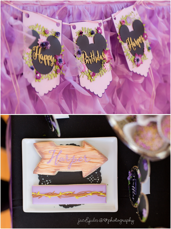 jacnjules photographs birthday party decor at Lotus Studios in Highland Park