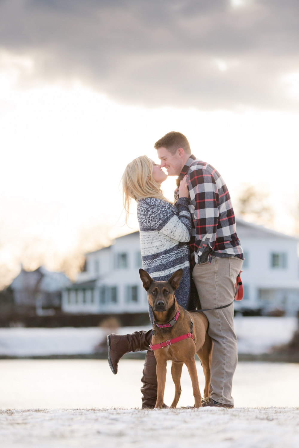 romantic engagement photo by jacnjules central nj wedding photographers in spring lake nj
