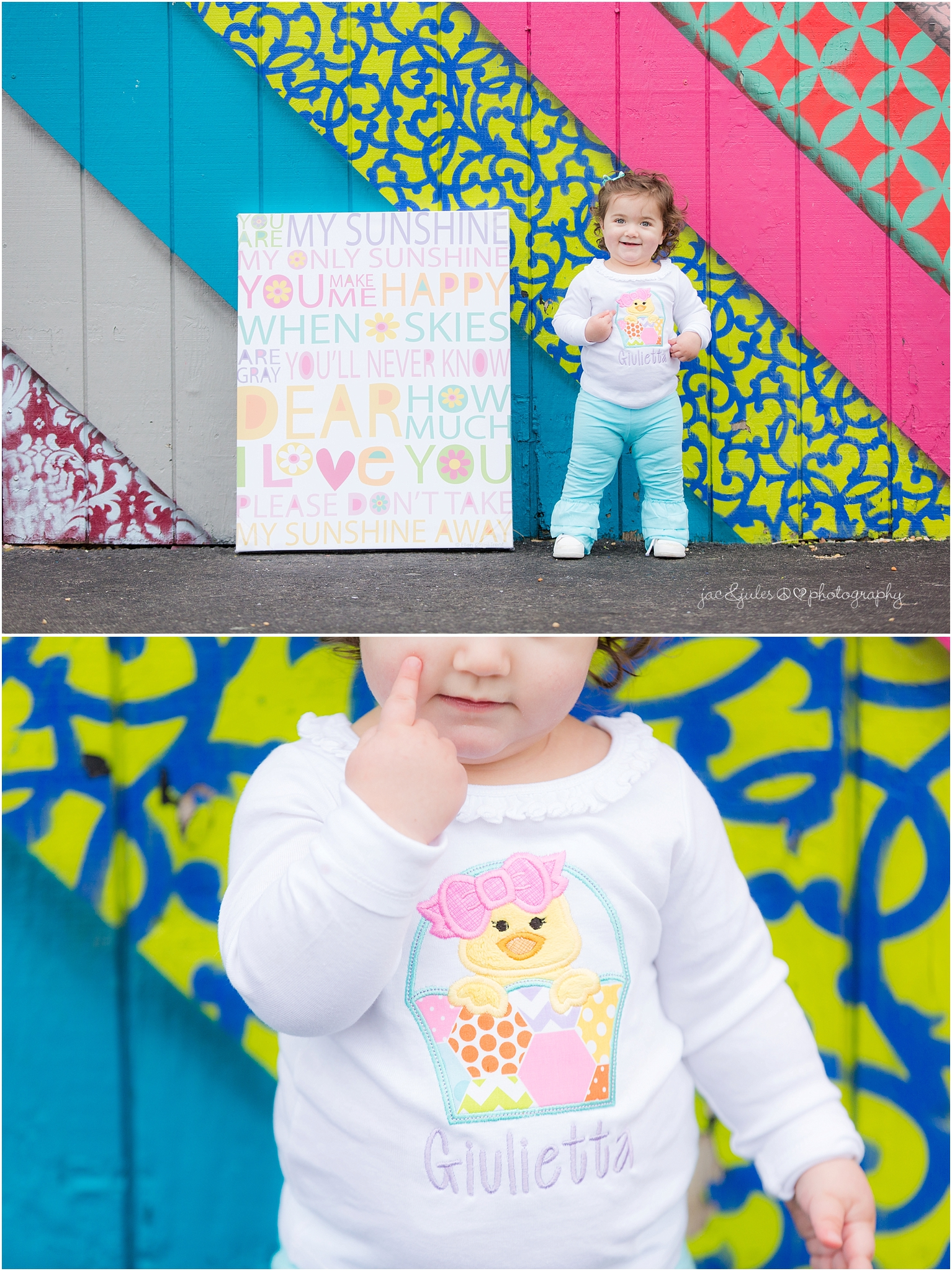 jacnjules photographs cute kid in asbury park, nj for Easter pictures