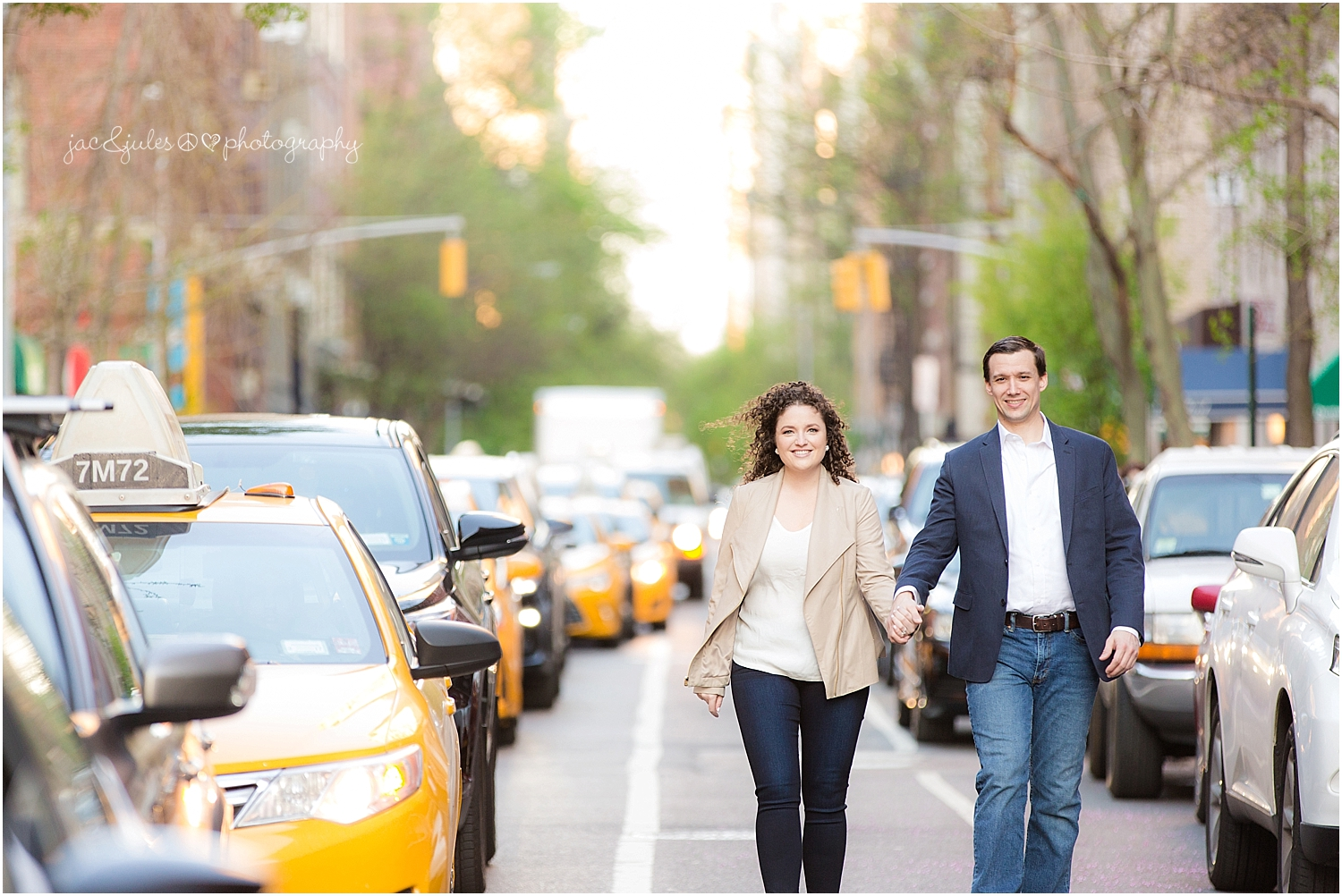 jacnjules photographs engagement in NYC in the meatpacking district