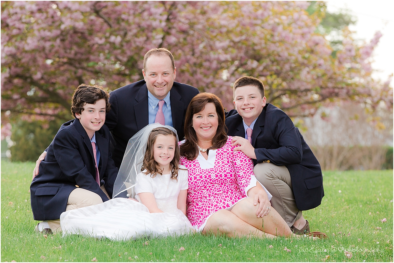 jacnjules photographs communion at st. catherine's church in spring lake nj