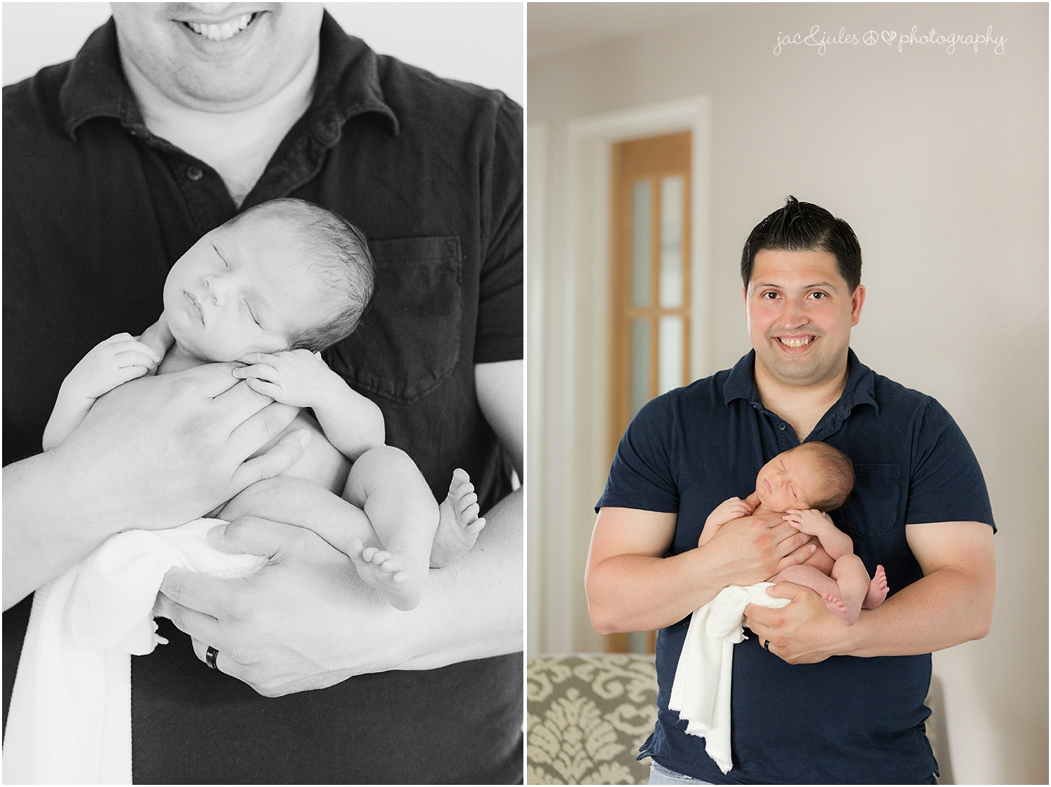 jacnjules photographs newborn baby boy at their home in monmouth county nj