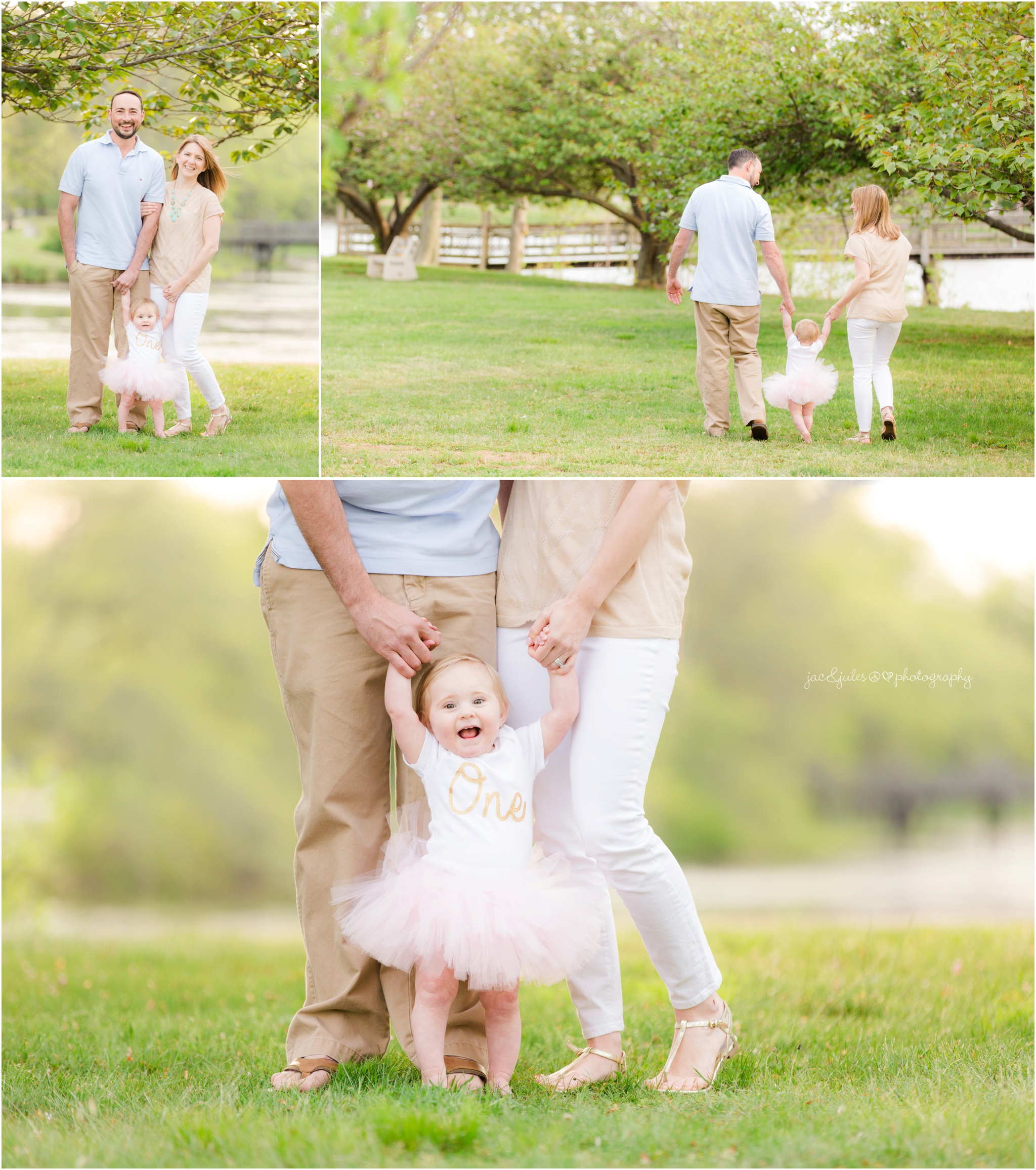 Family photos at Divine Park in Spring Lake, NJ
