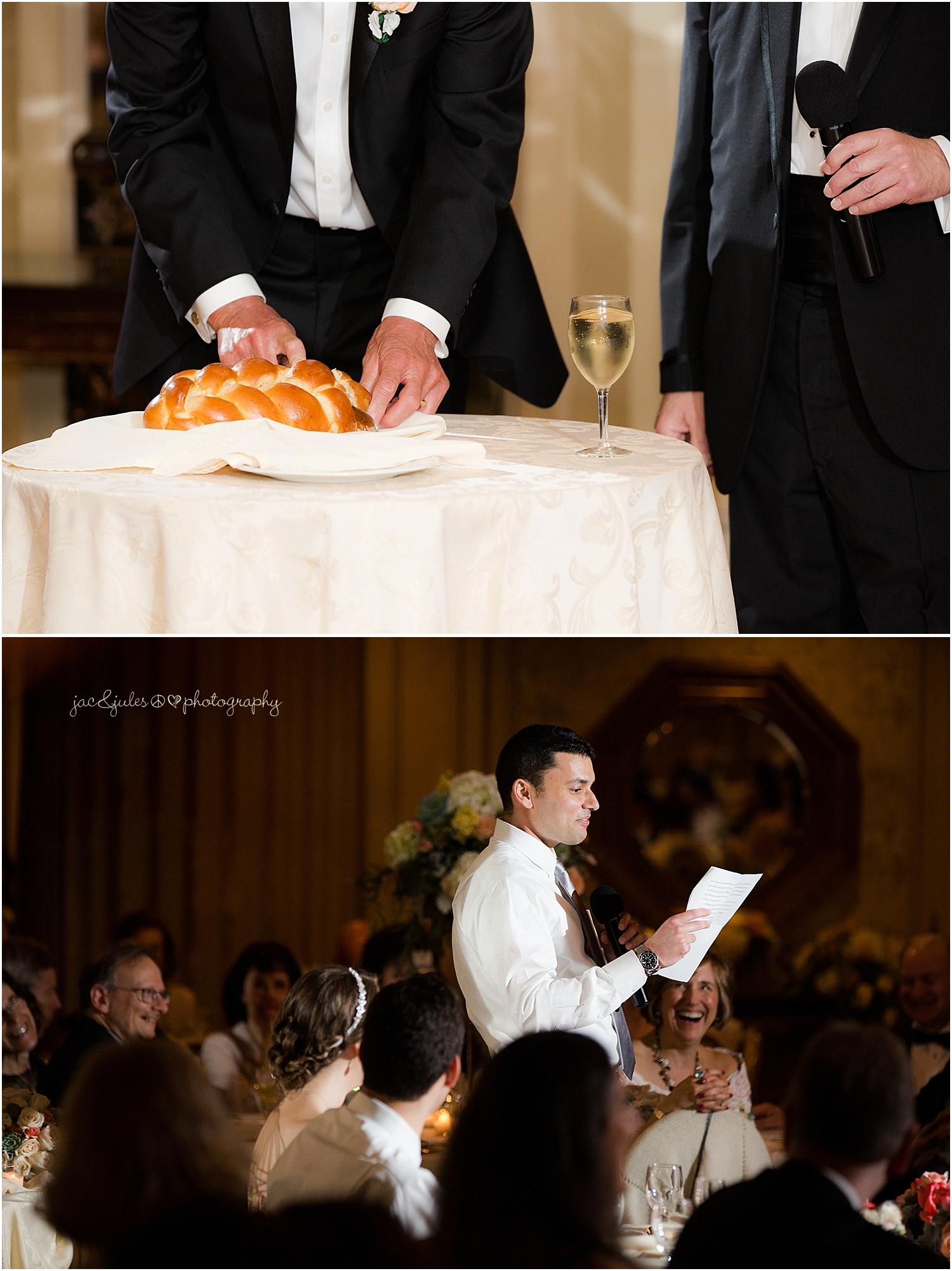 jacnjules photograph wedding reception at the olde mill inn in basking ridge nj