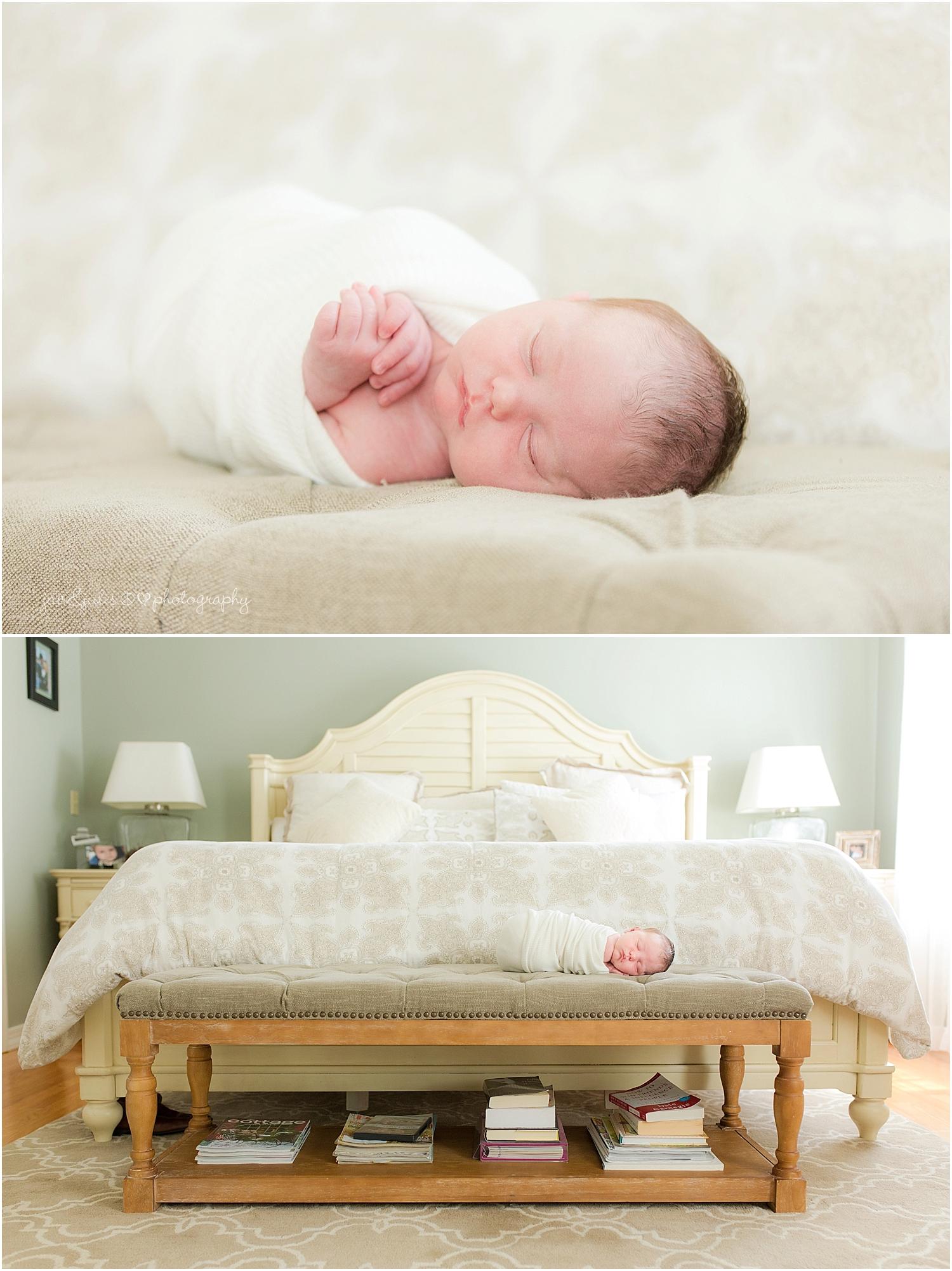 nj newborn photographer jacnjules photographs baby boy at his home