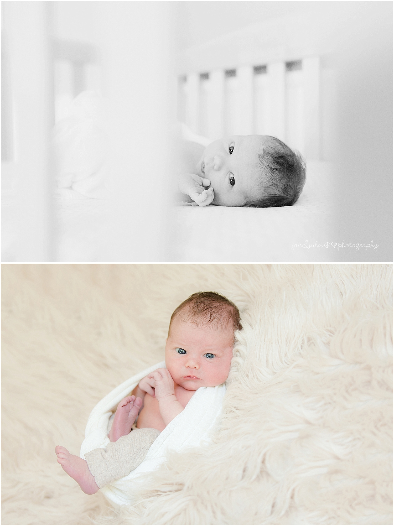 jacnjules photographs newborn baby boy and his family in his nursery in toms river nj
