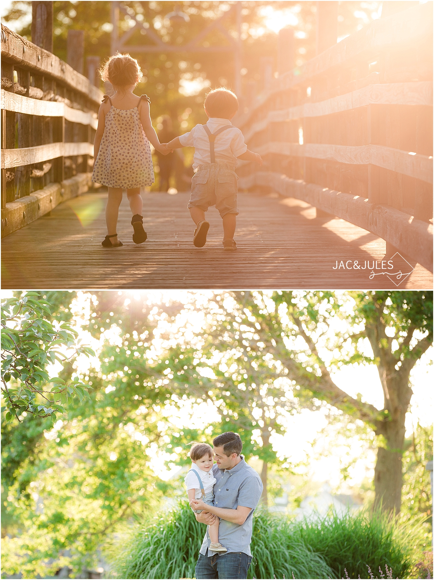 candid family photo at divine park in spring lake nj by jacnjules