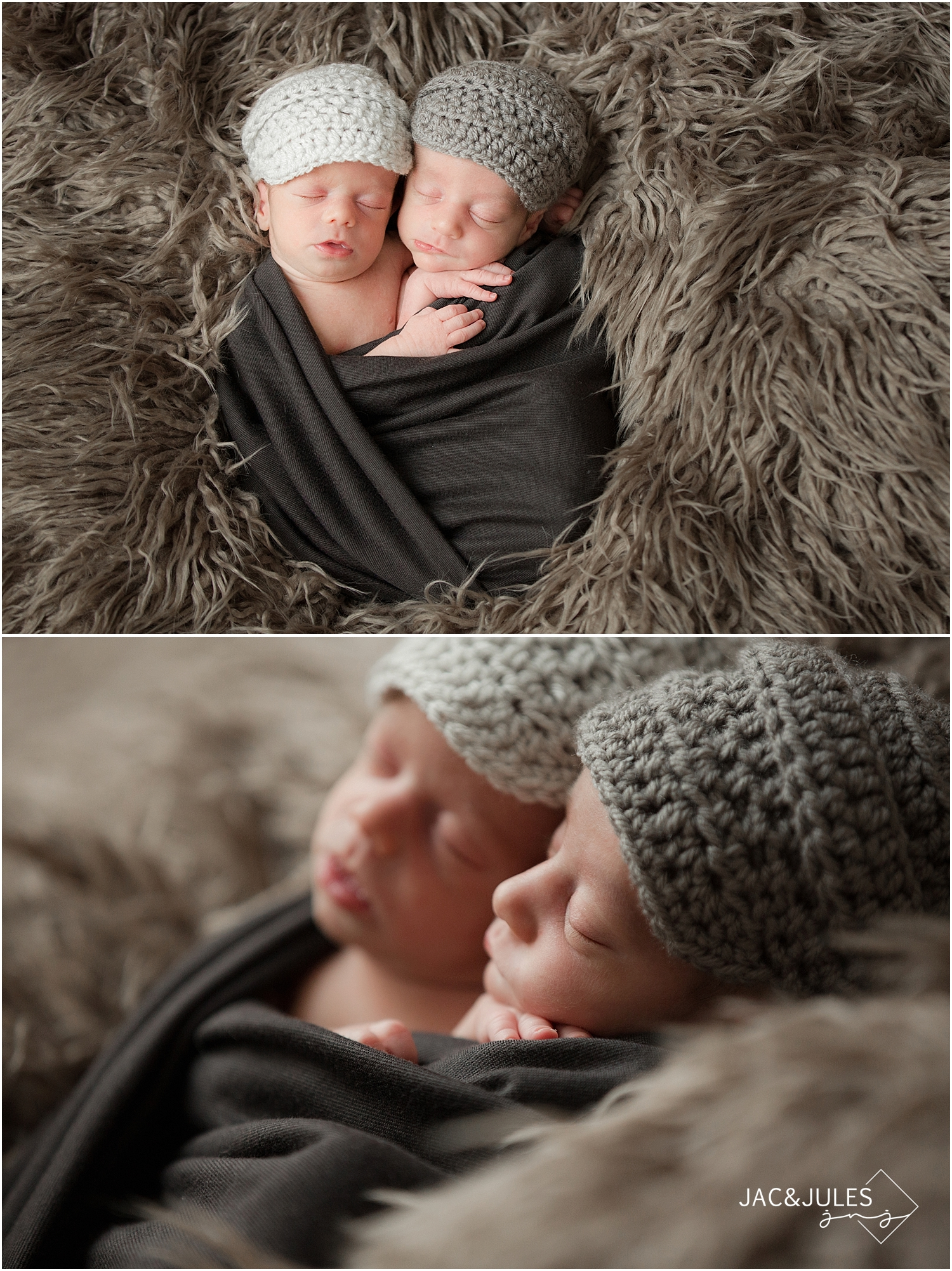 jacnjules photographs newborn twin boys in their home in toms river, nj