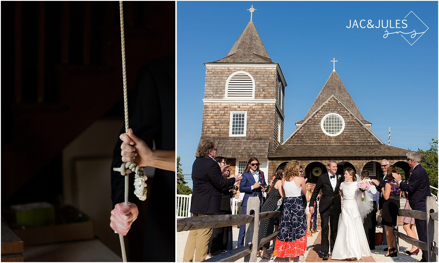 jacnjules photograph a wedding at st. simon by the sea in mantoloking nj