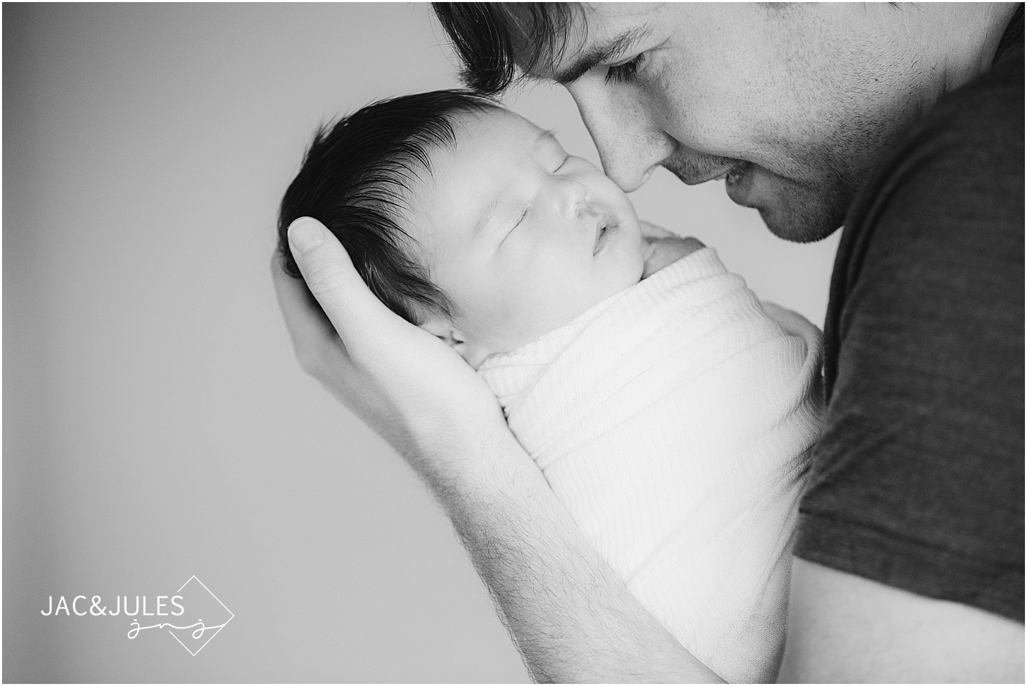 jacnjules photographs newborn lifestyle photos in their nursery in new jersey