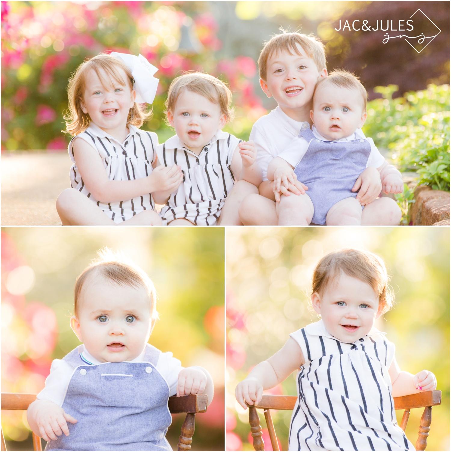 adorable ginger kids photos in spring lake, nj