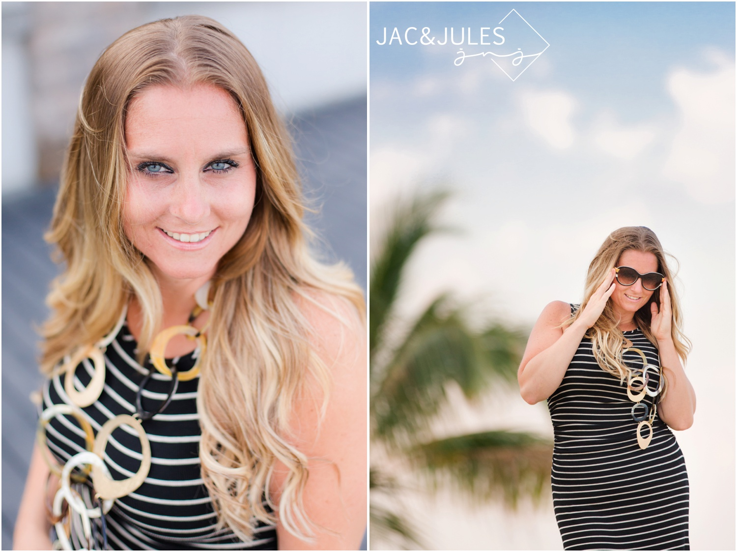 Fun headshots for business mentor Ciji Siddons at her oceanfront apartment in Point Pleasant Beach, NJ.
