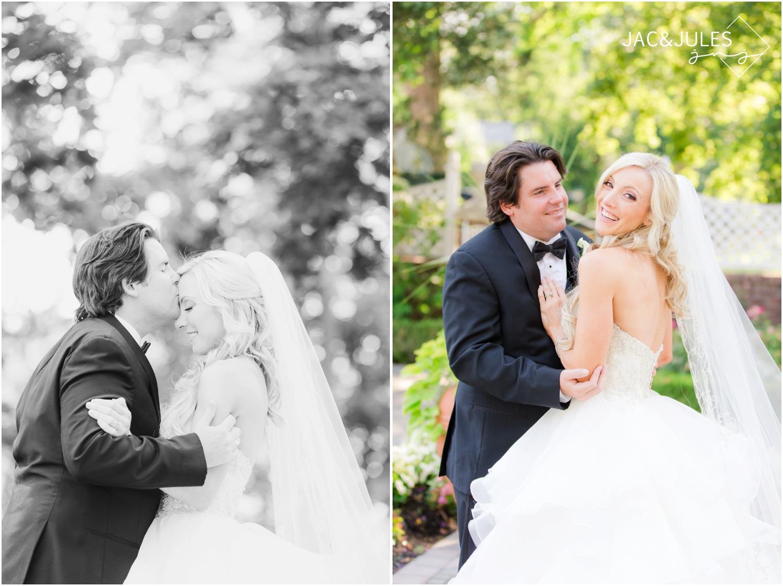 Bride and groom photos at The Shadowbrook in Shrewsbury, NJ.