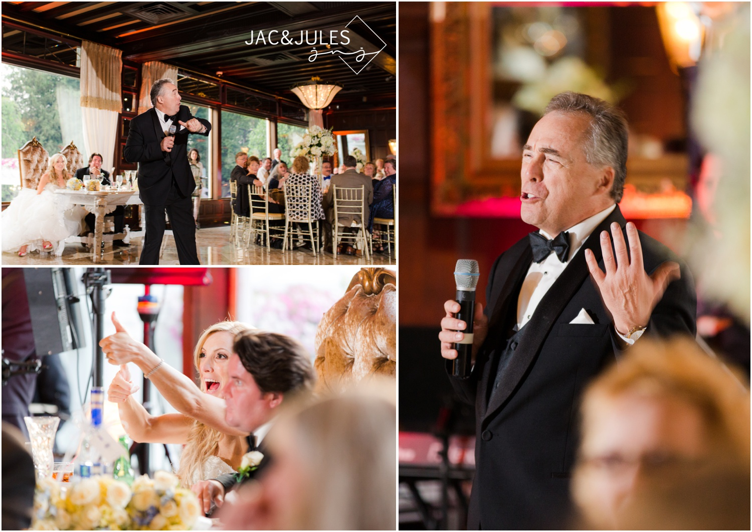 Dad's speech for his daughter's wedding at The Shadowbrook in Shrewsbury, NJ.