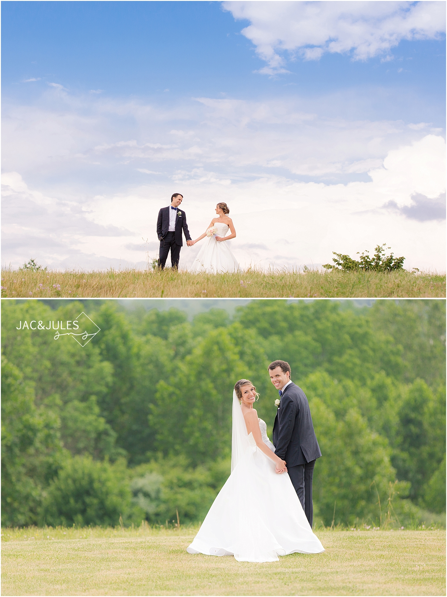 jacnjules photographs bride and groom portraits at immaculate conception in annandale nj