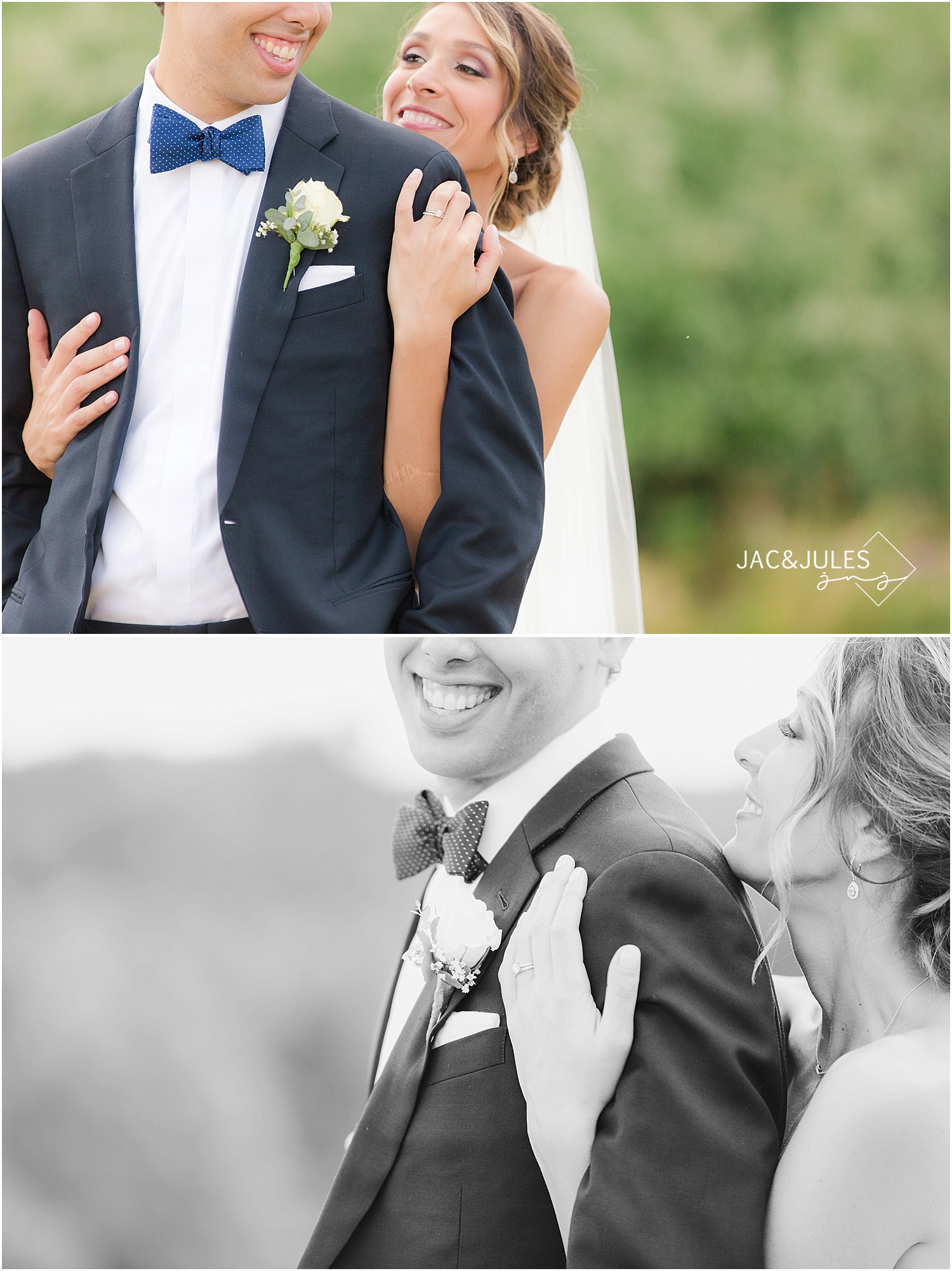 jacnjules photographs bride and groom's wedding at immaculate conception in annandale nj