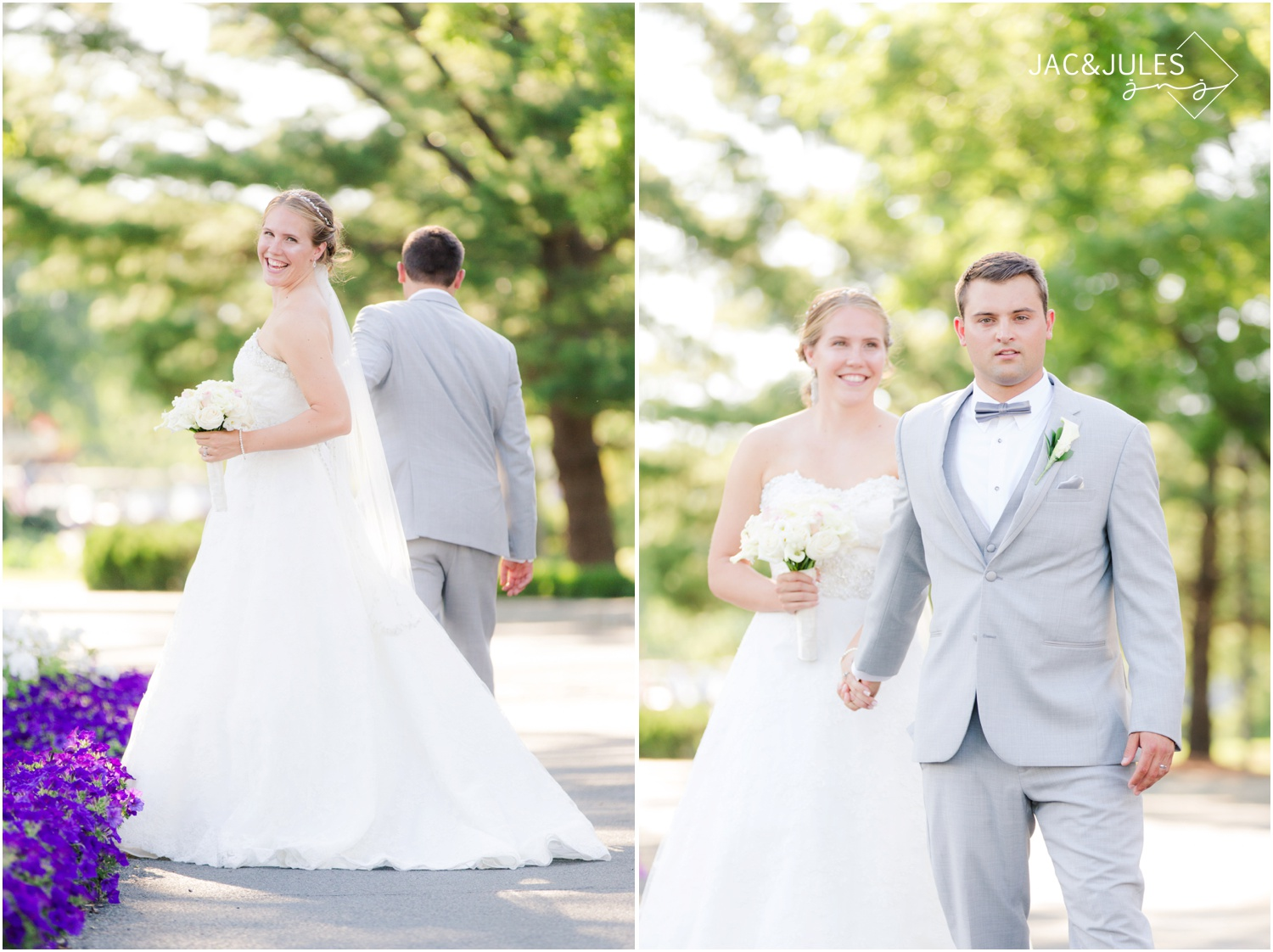 bride and groom photos at forsgate country club in Monroe, NJ.