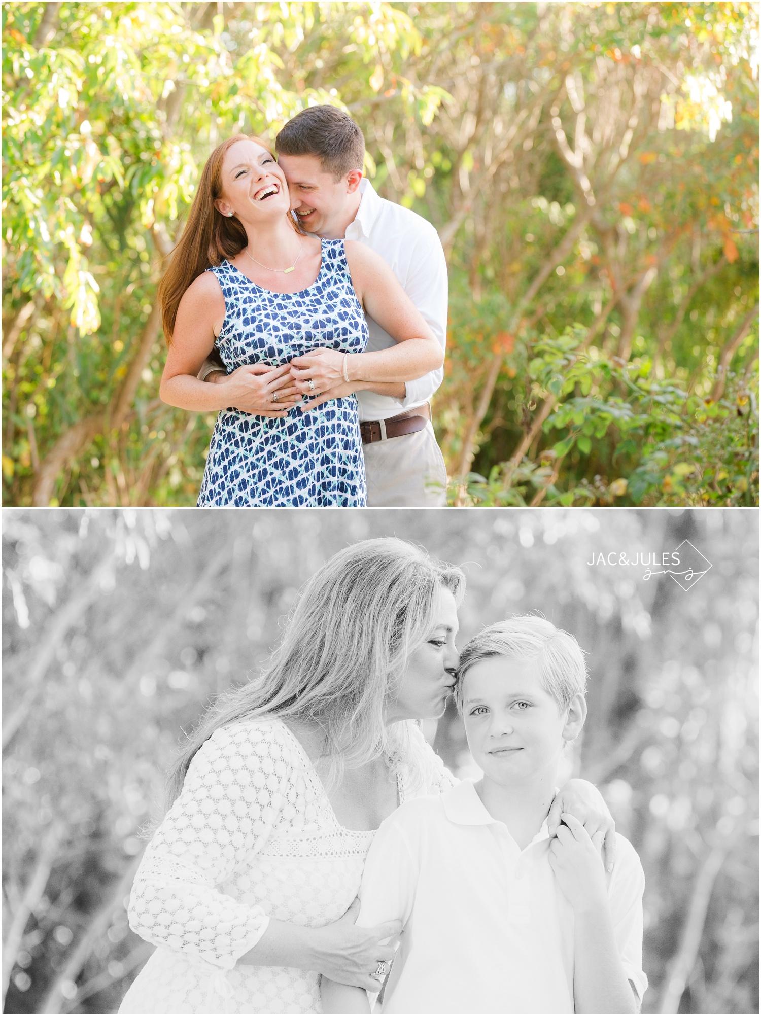 fun maternity photos in cape may, nj