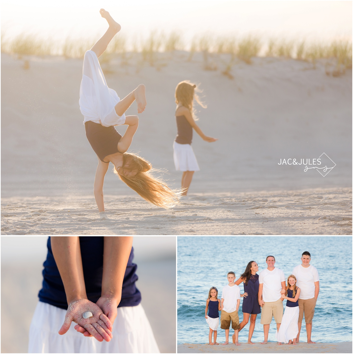 crazy fun Family Photos in Seaside Park, NJ