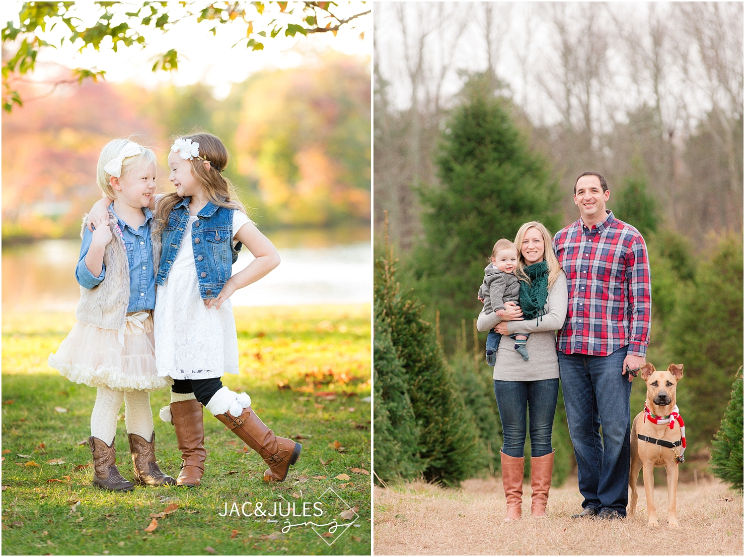 jacnjules photographs family at divine park in spring lake nj for Christmas photos
