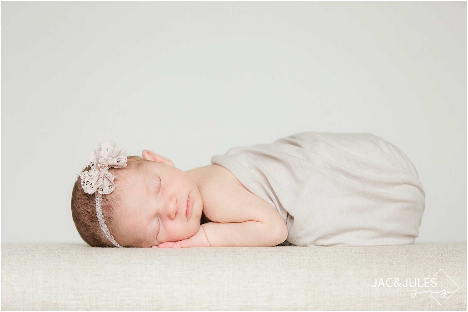 jacnjules photograph a newborn baby girl in Toms River, NJ