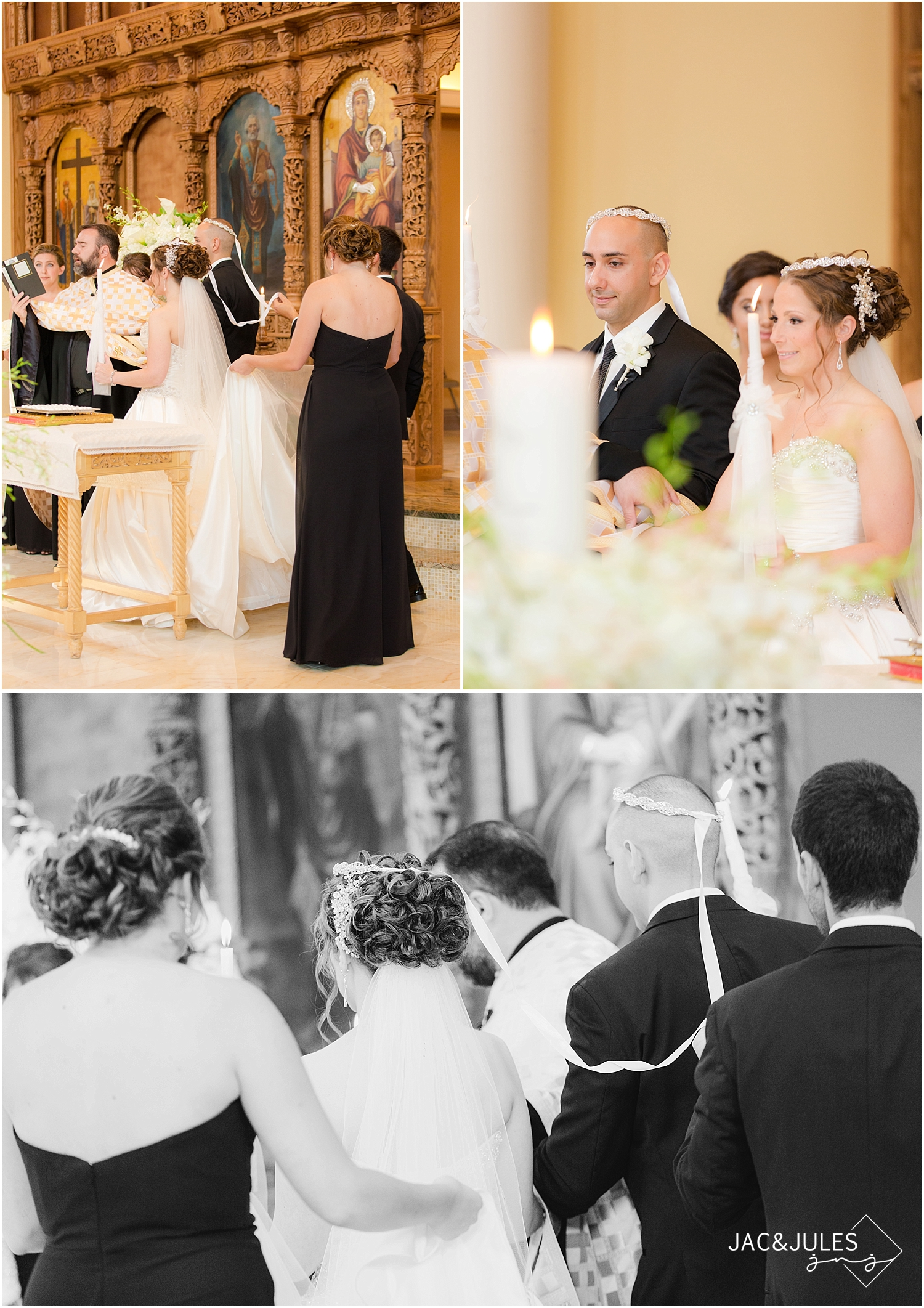 jacnjules photograph a greek orthodox wedding at St. Nicholas, Constantine and Helen in West Orange, NJ