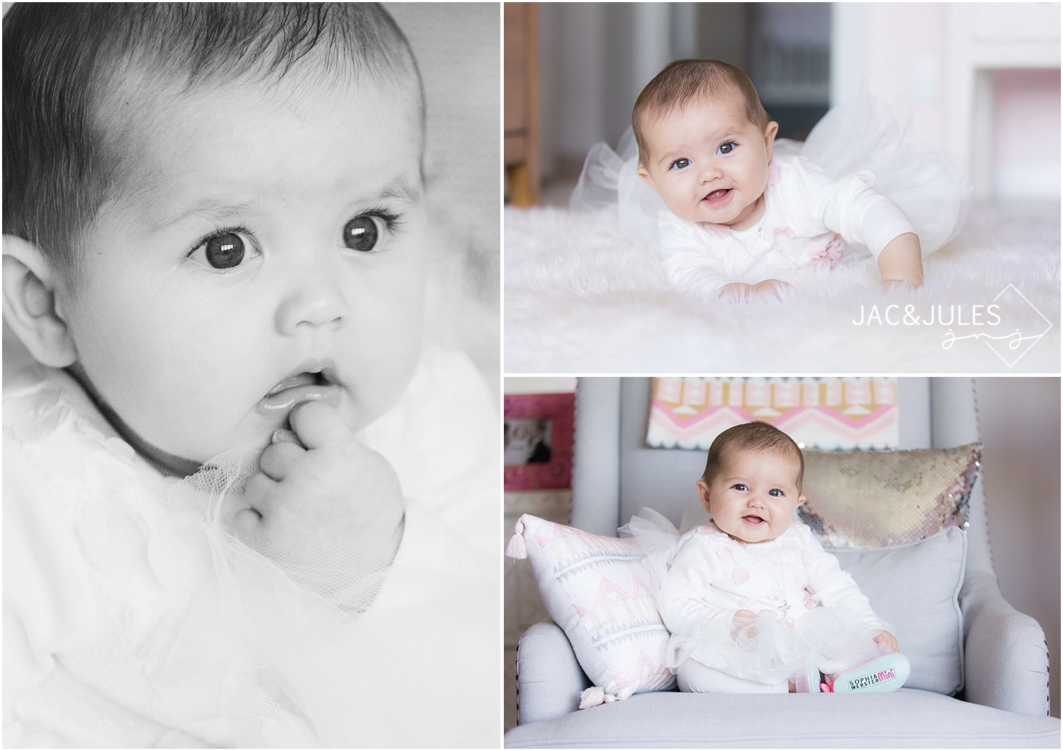jacnjules photographs a baby girl at her home in Irvington, NY