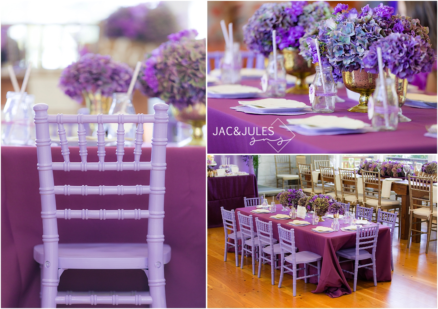 jacnjules photographs a purple and gold themed party in Irvington NY for The Party Muse