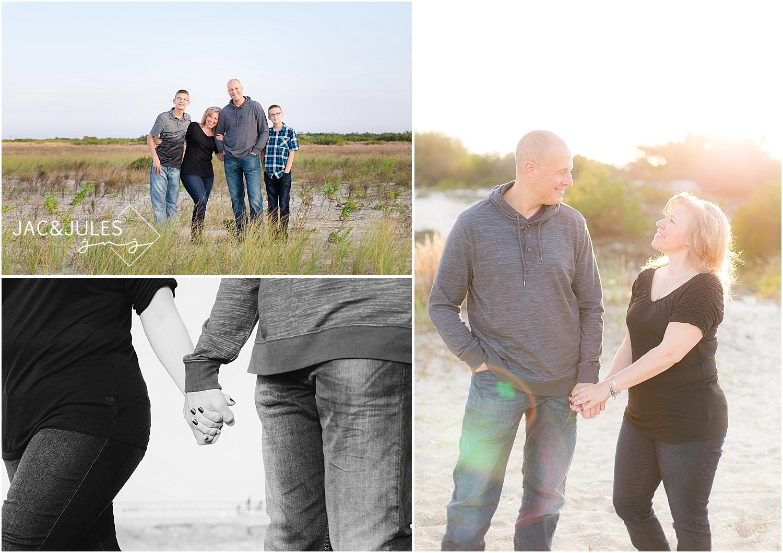 jacnjules photographs family at barnegat lighthouse in LBI